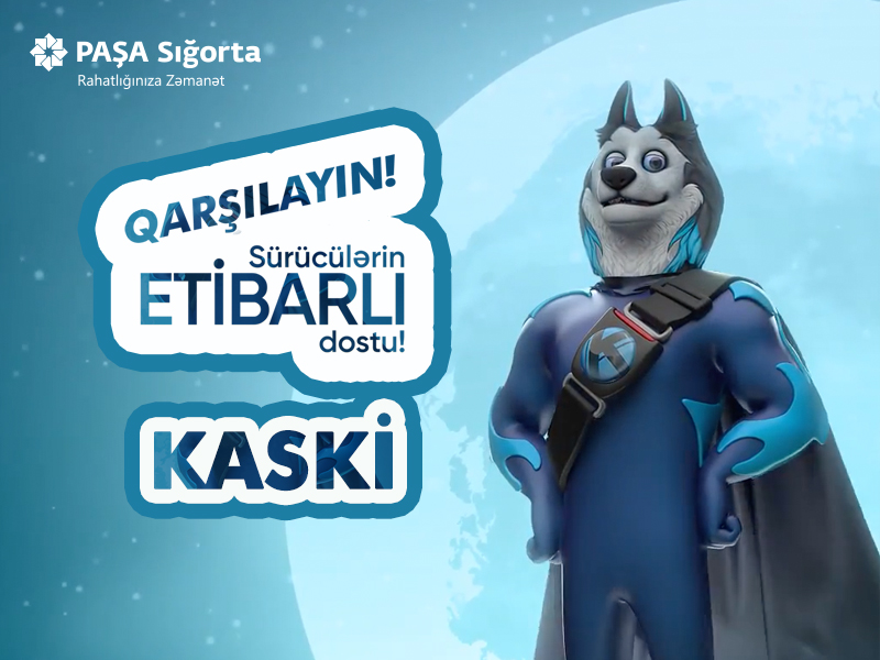 PAŞA Sığorta şirkəti avtomobil sığortası üzrə yeni maskotunu təqdim etdi