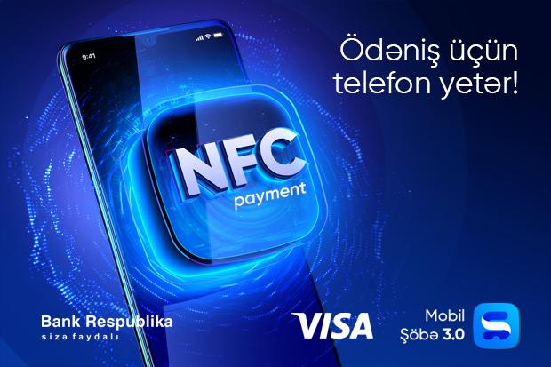 Bank Respublika NFC ödənişlərin tətbiqinə başladı!