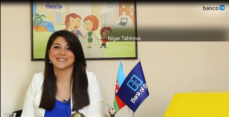 BancoTV - Nigar Tahirova ilə müsahibə (Bank of Baku)