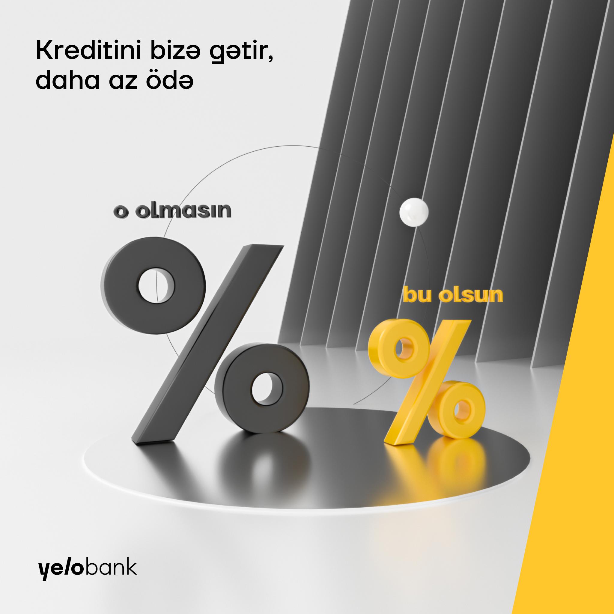 Перенеси свои кредиты в Yelo Bank и уменьши месячные выплаты