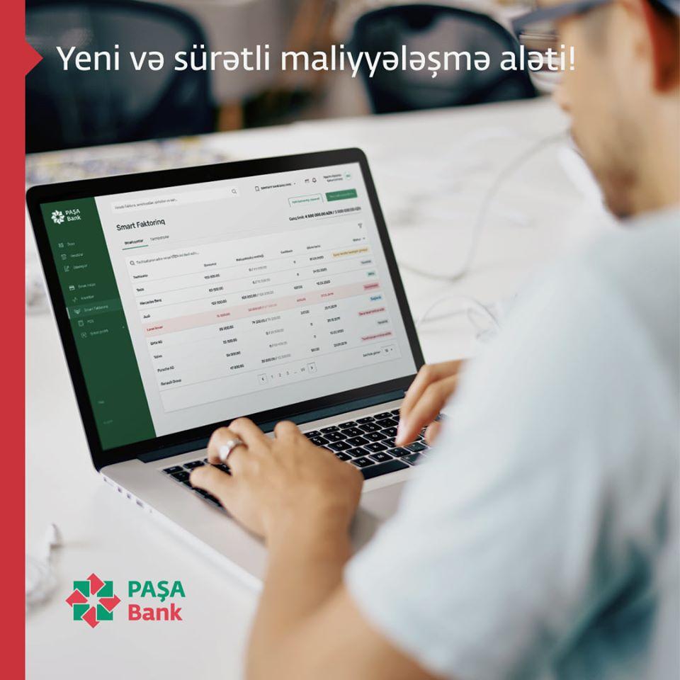PASHA Bank предоставляет клиентам новый онлайн продукт Smart Factoring