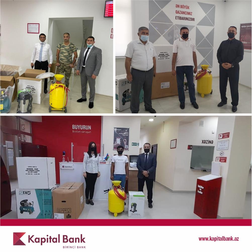 Kapital Bank продолжает оказывать поддержку малообеспеченным семьям