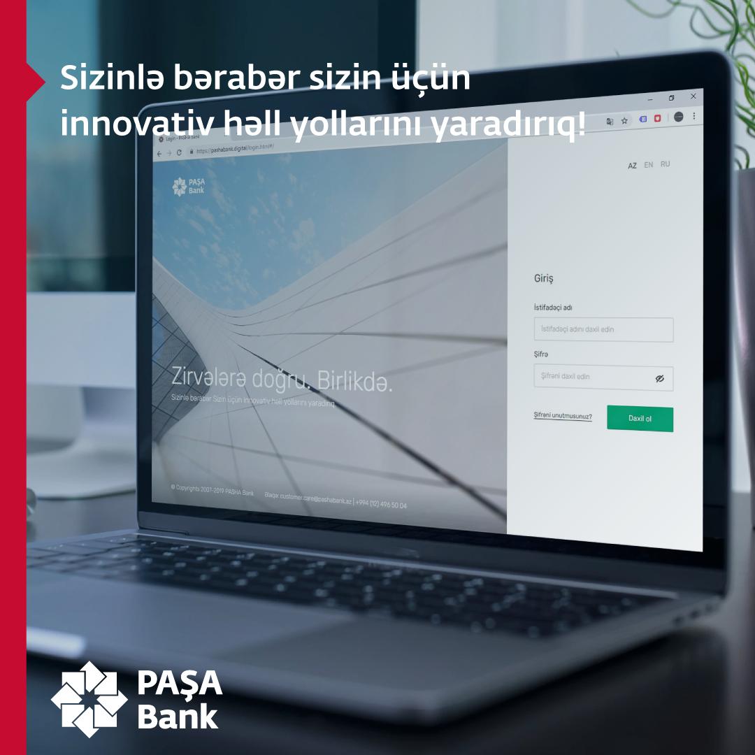 PASHA Bank запустил разработанный вместе с клиентами новый сервис Online Bank