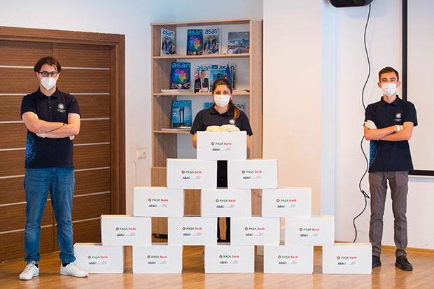 PAŞA Bank, uşaqları antiseptik vasitələrlə təmin etmək məqsədi ilə keçirilən sosial layihəyə dəstək verdi