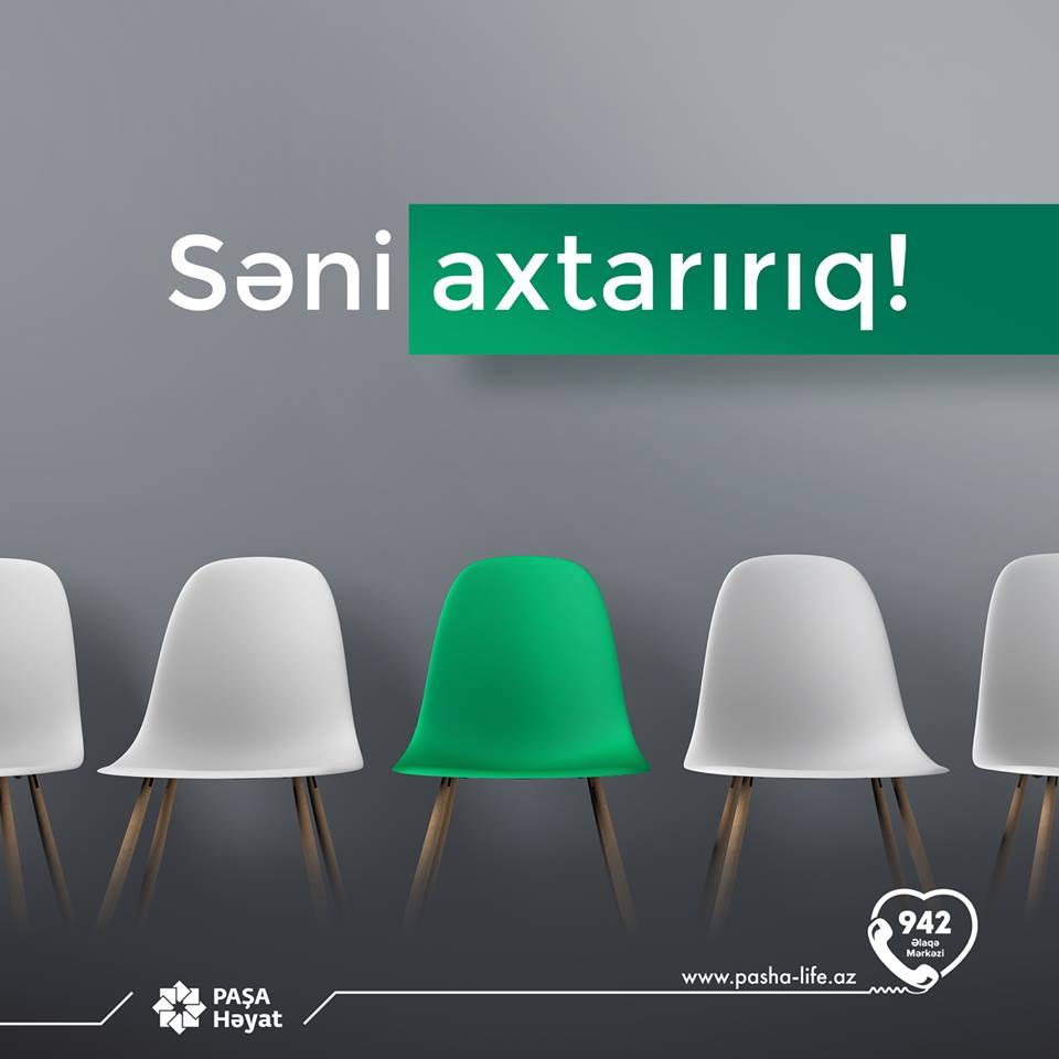 """""""PAŞA Sığorta""""-da 12 Yeni VAKANSİYA!"""