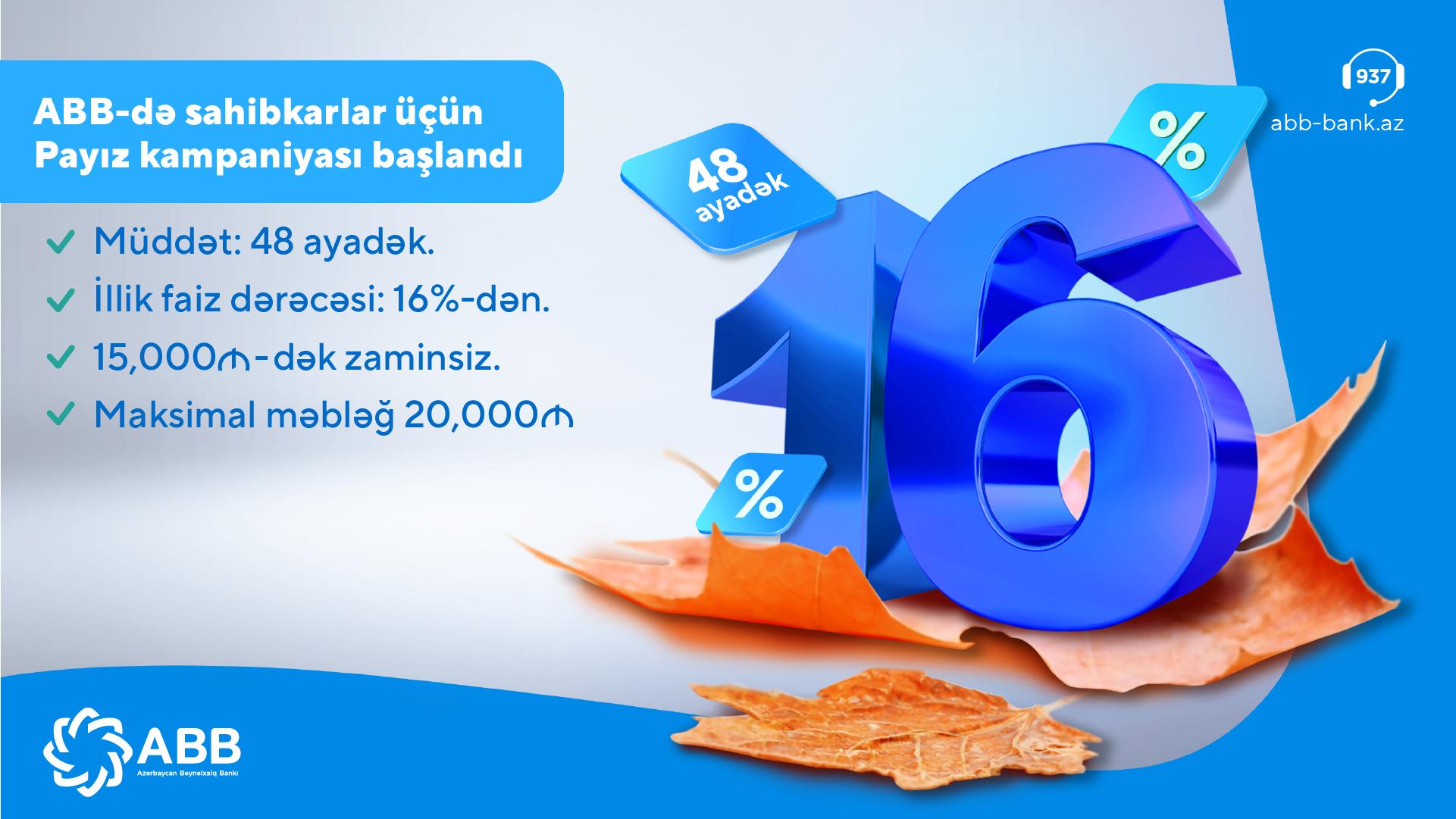 Осенняя кампания банка АВВ для малых предпринимателей!