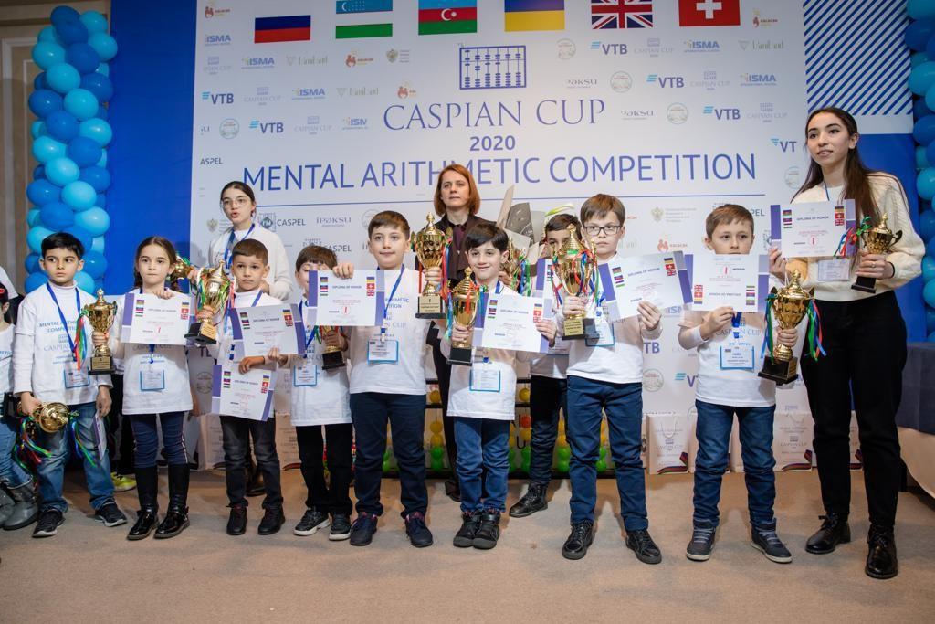 При поддержке банка ВТБ (Азербайджан) состоялась олимпиада по ментальной арифметике
