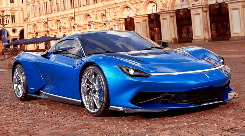 Pininfarina yenilənmiş Hypercar Battista-nı təqdim etdi