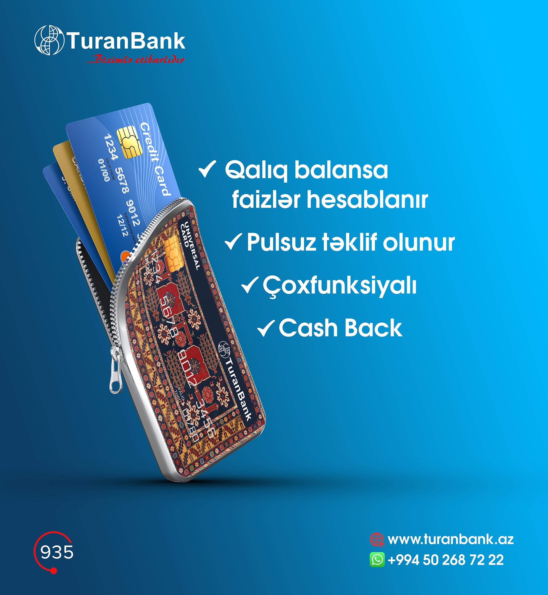 Встречайте многофункциональную карту от TuranBank!