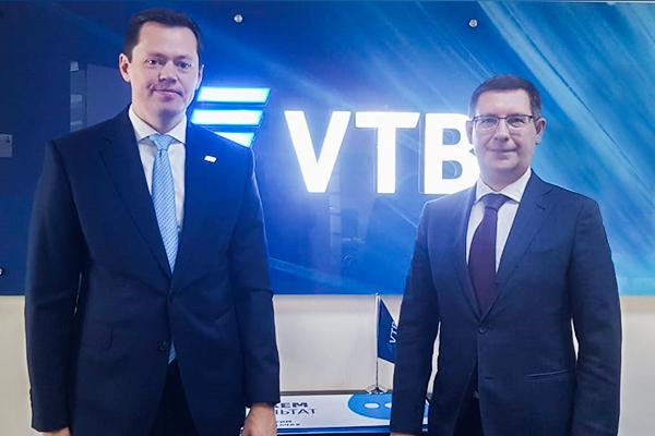 Состоялась встреча председателя правления банка ВТБ (Азербайджан) с Торговым представителем РФ в Азербайджане