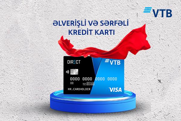 VTB (Azərbaycan) kredit kartları üçün güzəşt müddətini artırdı