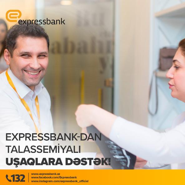 Expressbank-dan talassemiyalı uşaqlara dəstək