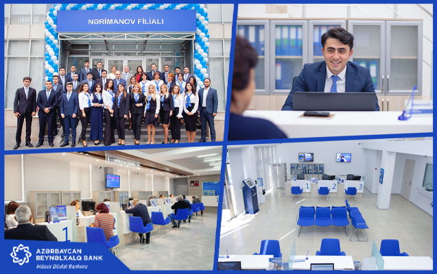 Международный Банк Азербайджана обновил Наримановский филиал и отделение в Гахе