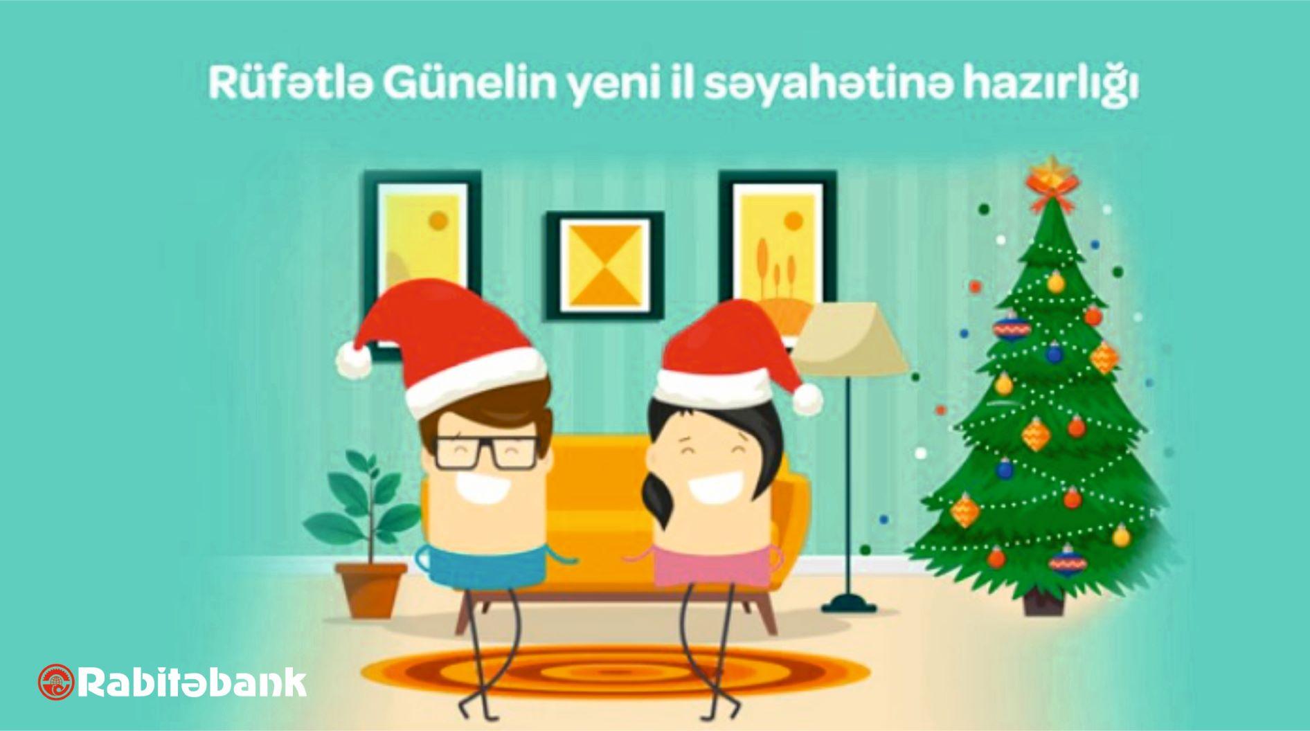 Rabitəbankın Mastercard kartları ilə Yeni ili sevinclə qarşıla!