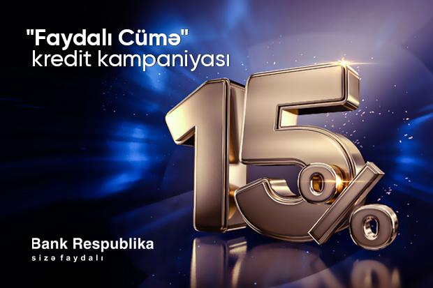 """Bank Respublika """"Faydalı Cümə"""" kampaniyasına start verir"""