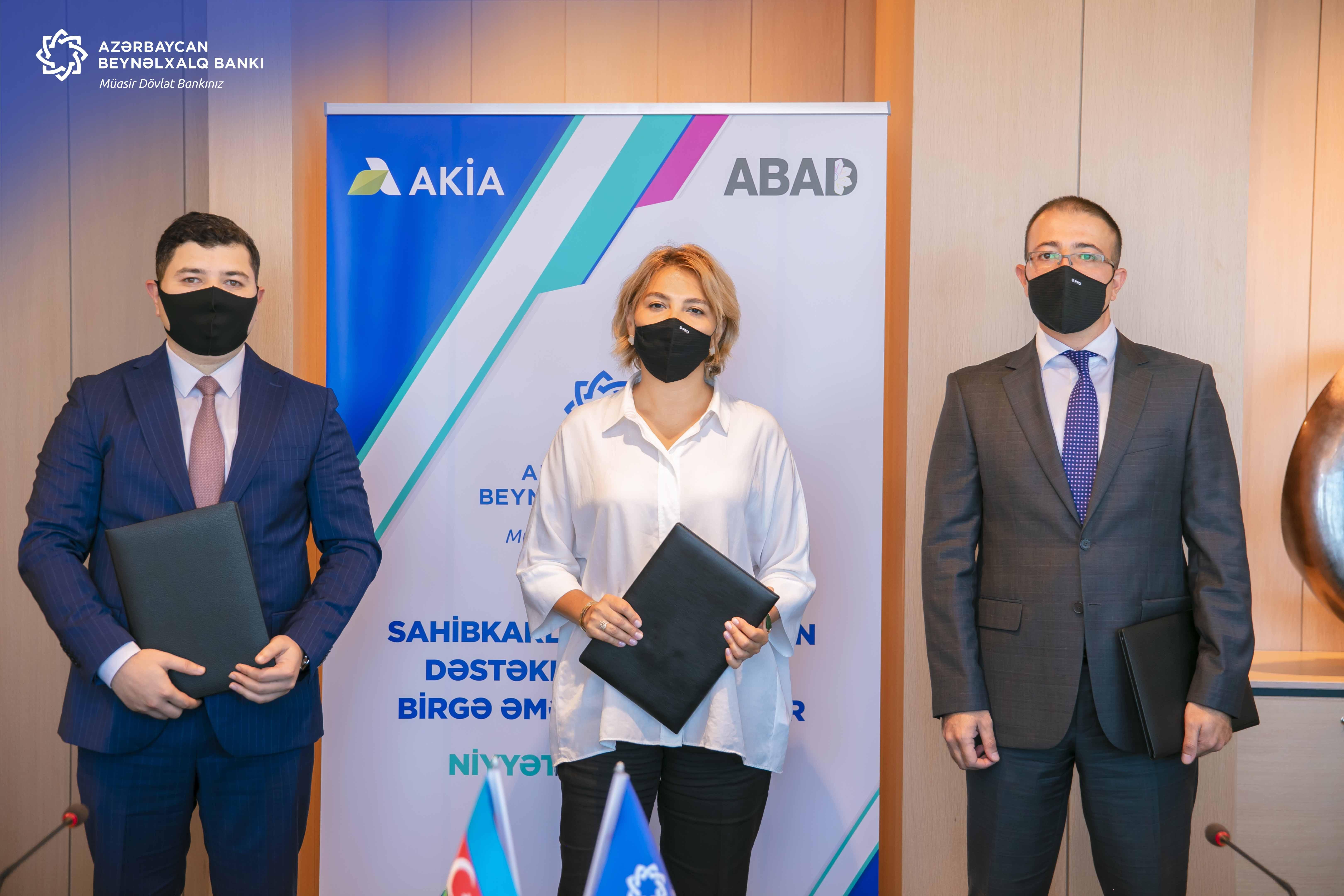 Международный Банк Азербайджана, ABAD и AKİA окажут поддержку в развитии предпринимательства в аграрном секторе