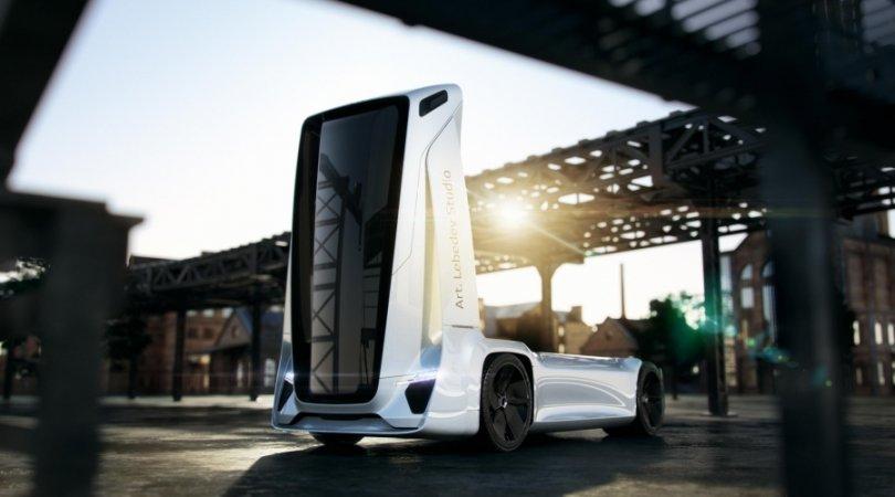 Rusiyalı dizaynerdən maraqlı təklif – Yeni nəsil sürücüsüz yük maşınları istehsal olunacaq