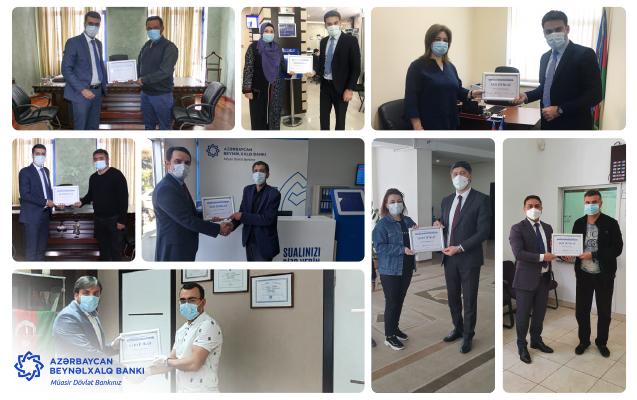 Azərbaycan Beynəlxalq Bankı daha 9 ailənin məşğulluğuna kömək göstərdi
