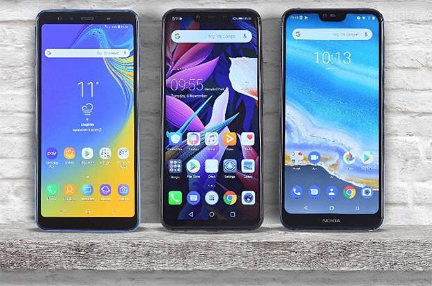 Samsung və Nokia səhmləri Huawei qərarı ilə bahalaşdı