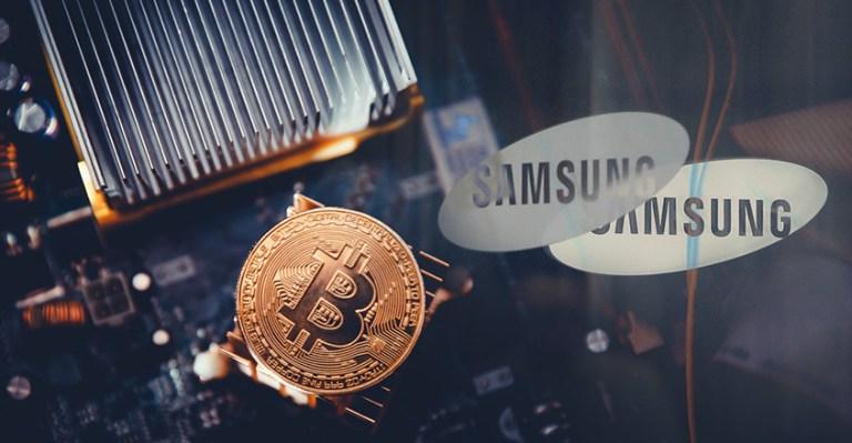 Samsung alıcılarına bitcoin ilə cash back ödənilicək