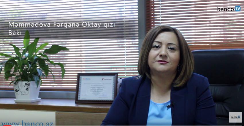 BancoTV - Fərqanə Məmmədova ilə müsahibə (KapitalBank)