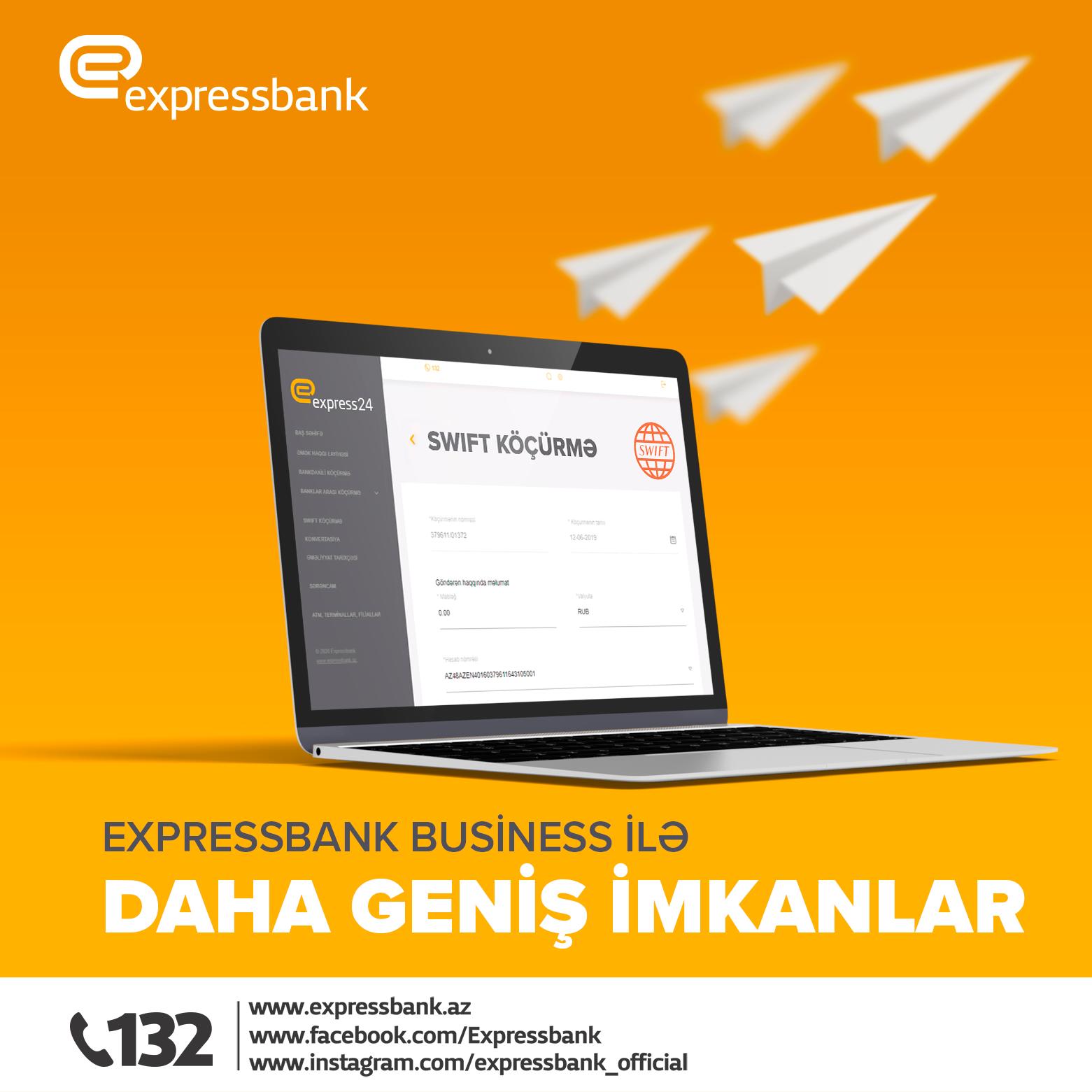 Expressbank-dan müştərilərinə daha bir yenilik!