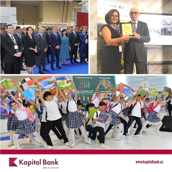 Kapital Bank является официальным партнером Международной выставки образования