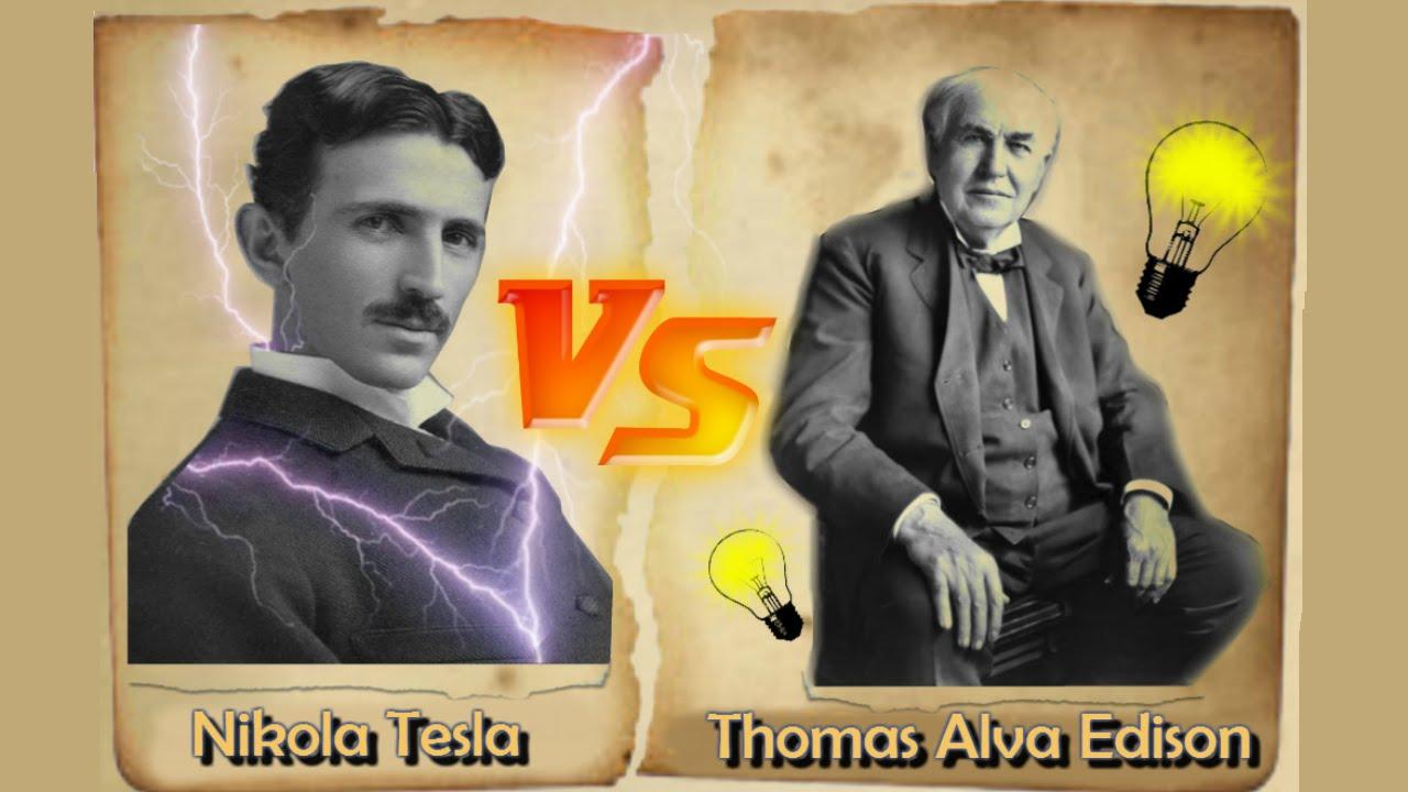 Nikola Tesla, Thomas Edisona qarşı. Bu müharibədə kim qalib gəldi?