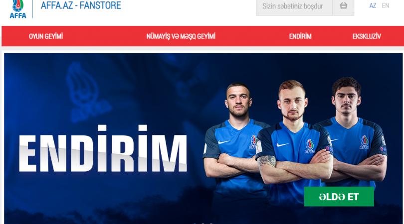 Futbol fanatlarına xoş xəbər – Yığmamızın forması onlayn satışda