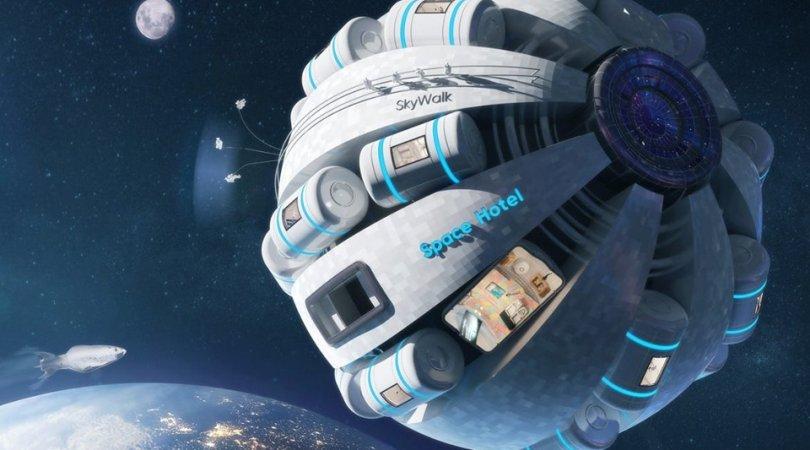NASA kosmik oteli istifadəyə verdi