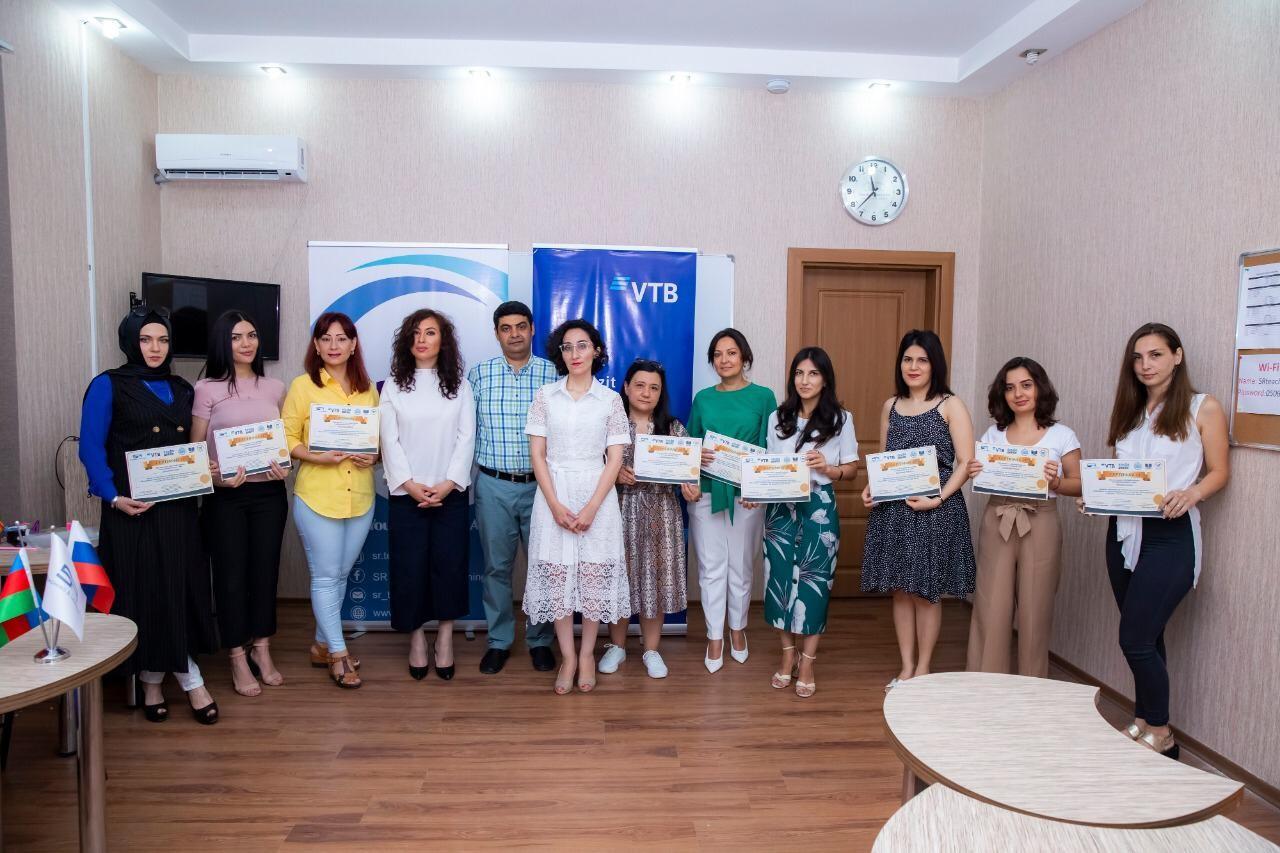 Bank VTB (Azərbaycan) rus dilinin xarici dil kimi tədrisi üzrə təlimə dəstək olub