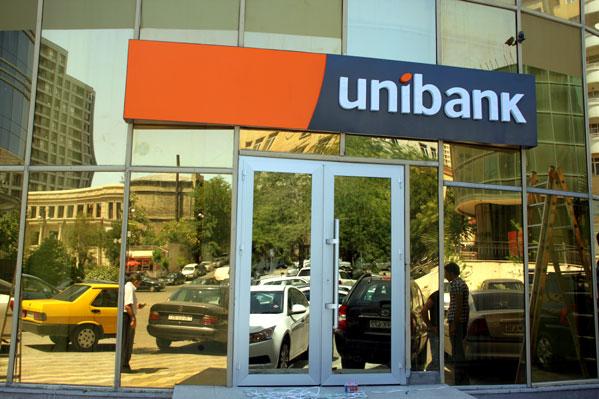 Unibank ikinci rübü mənfəət ilə işləyib