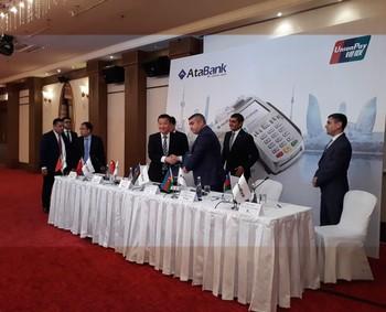 """""""AtaBank"""" ASC dünyanın aparıcı ödəniş sisteminə qoşuldu"""