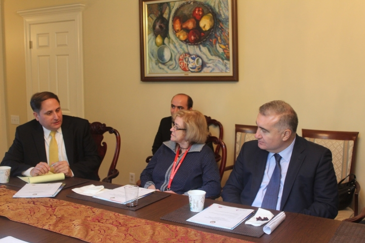 Vaşinqtonun iş adamları Azərbaycanla əməkdaşlıda maraqlıdırlar