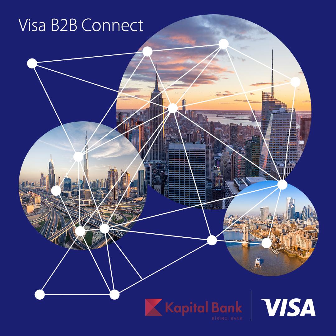 Kapital Bank и Visa запускают Visa B2B Connect в Азербайджане