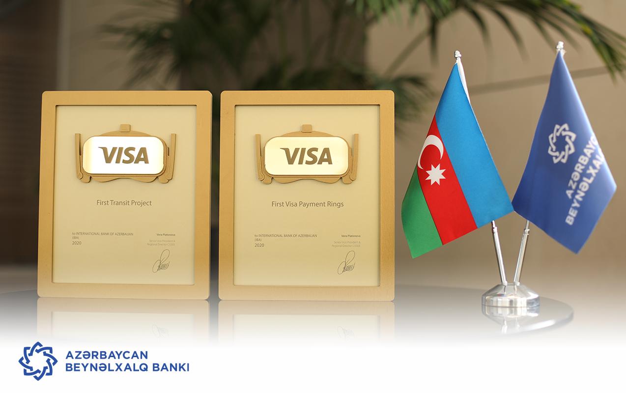 VISA удостоила Международный Банк Азербайджана двумя наградами