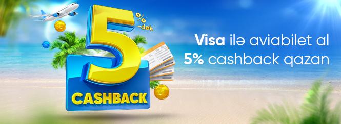Bank Respublikanın Visa kartı ilə aviabiletləri onlayn alın, сashback qazanın!