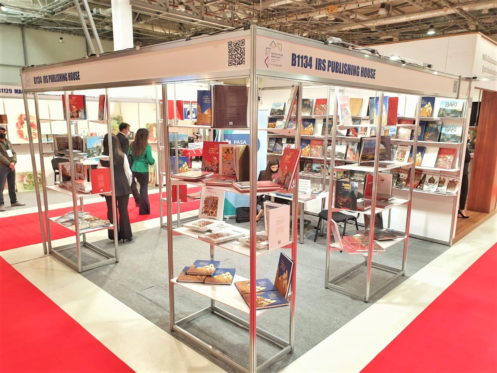 «PASHA Life» и «IRS Publishing House» на 7-ой Бакинской Международной Книжной Выставке
