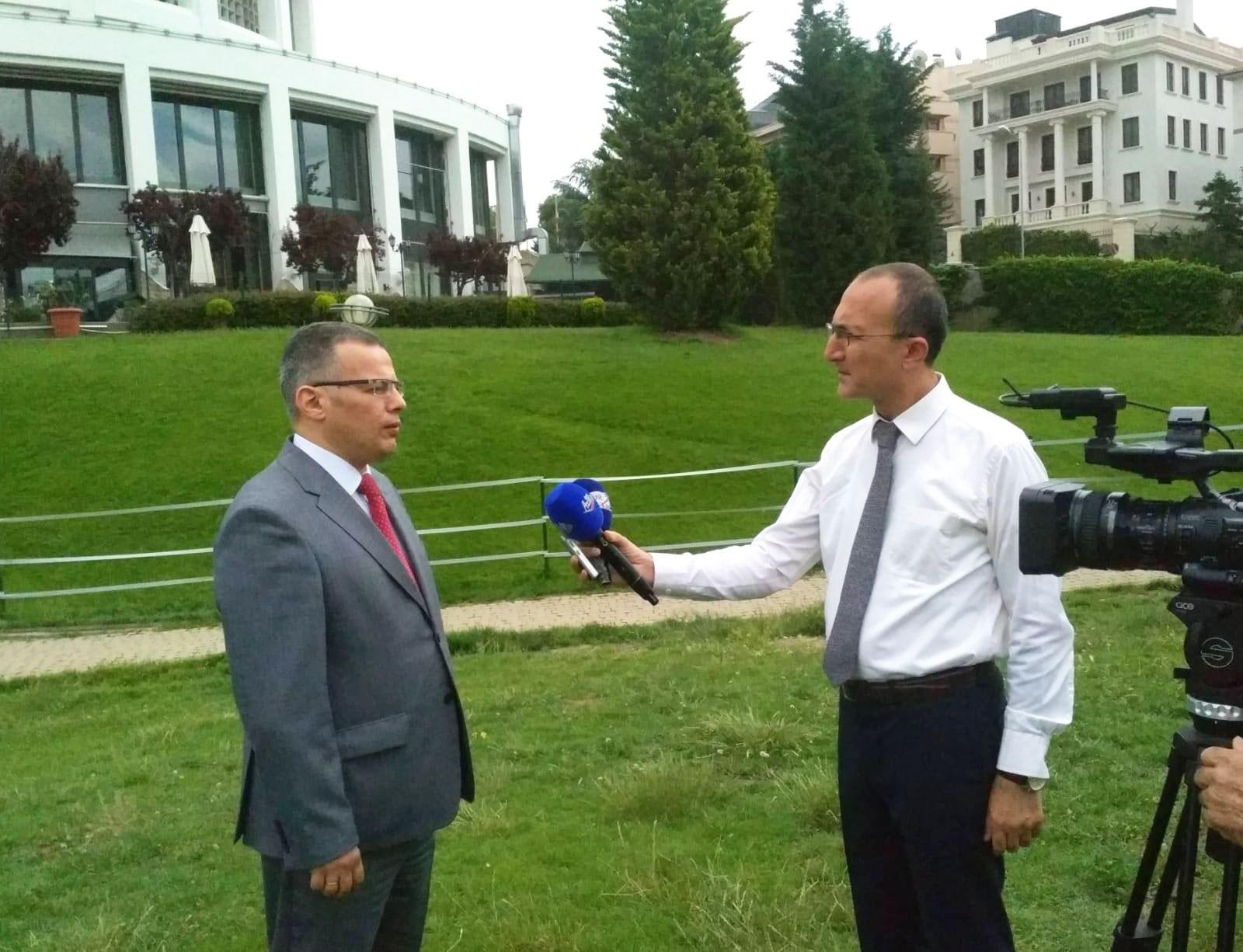 Vüsal Qasımlı Ankarada Avropa və Mərkəzi Asiya regional idarəetmə konfransında çıxış edib