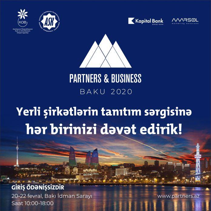 Kapital Bank выступитпартнеромвыставки «Partners and Business»