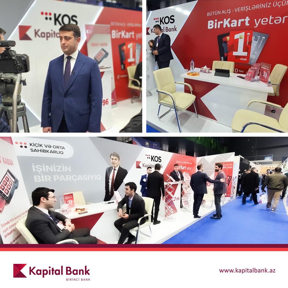 При поддержке Kapital Bank прошла выставка местной продукции и услуг