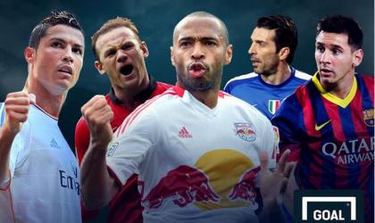 2014-cü ilin ən varlı 10 futbolçusu - Foto