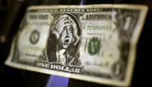 """""""Bloomberg""""də dollar dörd ayın minimumuna endi – FOTO"""