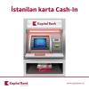 KapitalBank bankomatlarına yeni funksiya əlavə olunub