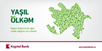 Kapital Bank, yaşıllaşdırma, hərəkatına, başlayır